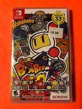 Konami - Super Bomberman R - Nintendo Switch - BEAND NEW & FACTORY SEALED GAME!