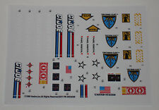 GI Joe Thunderclap Sticker Decal Sheet