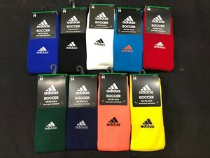Unisex Adidas Metro IV Knee High Soccer Socks - Choose Color & Size
