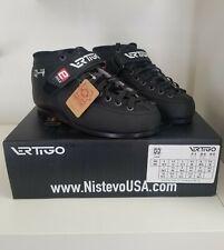 Atom Luigino Q4 Roller Skate boots Women's Size 6 Men's 5 (Euro 38.5) black.