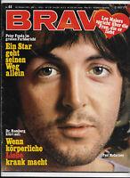 BRAVO Nr.44 vom 26.10.1970 Paul McCartney, Deep Purple, Peter Maffay, Mary Roos