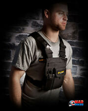DIRTY RIGGER LED CHEST RIG, RADIO VEST, STAGE, STUDIO,  SOUND, LIGHT, RIGGING