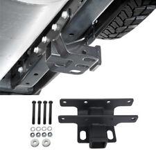 "2"" Steel Towing Rear Trailer Receiver Hitch for 07-18 Jeep Wrangler JK (Black)"
