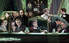 """Scarface, Godfather, Goodfellas collage Canvas Print  A1 30"""" x 20"""""""