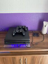 Sony PlayStation 4 Pro 1TB Jet Schwarz mit 2 Controllern,Zubehörpaket, 13 Spiele