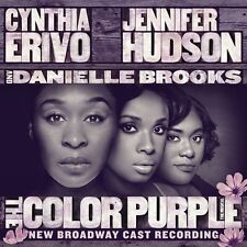 THE COLOR PURPLE (New Broadway Cast/ Jennifer Hudson)   (CD) Sealed