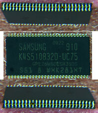 SAMUNG SDRAM 64X8 PC133 CL3,  STACKED K4S510832D-UC75  LOT OF 100 PIECES