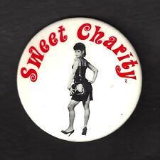 """Debbie Allen """"SWEET CHARITY"""" Bebe Neuwirth / Bob Fosse 1986 Broadway Pinback"""