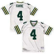 663a46f45 Brett Favre 1996 Green Bay Packers Mitchell   Ness Away White Replica Jersey  Men M
