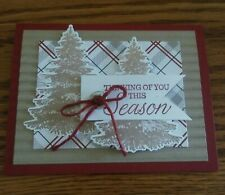 Stampin up card making kit - Festive Farmhouse - Winter Woods