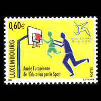 Luxembourg 2004 - European Year of Education Through Sport Sports - Sc 1141 MNH