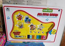 Vintage Sesame Street All-Star Band Keyboard 1991 Golden Music Big Bird Cookie