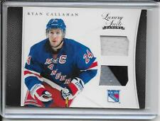 11-12 Luxury Suite Ryan Callahan Jersey and 2Clr Stick # 20