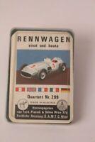 Rennwagen einst und heute Quartett Nr. 299 Piatnik Auto Kartenspiel Motorsport