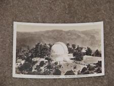 100 Inch Telescope Dome, Mt. Wilson Observatory, unused vintage card