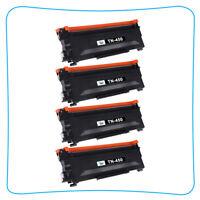 4*Toner Compatible for Brother TN450 MFC-7860DW HL-2240 HL-2270DW HL-2280DW