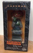 """Merv Pumpkinhead Sandman 6"""" Mini Bust Statue Nowlan DC Direct #328/1000 NIB"""