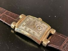 GRUEN CURVEX  WRIST WATCH, GOLD FILLED 1940S