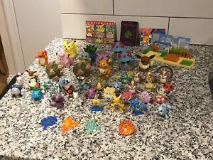 Pokemon TOMY PVC Vtg CGTSJ Burger King Lot Figure 90s Toy Nintendo Sticker