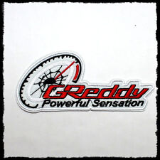 GReddy Japan tuning parts Motorsports Car Racing Suit Jacket Cap IRON ON PATCH