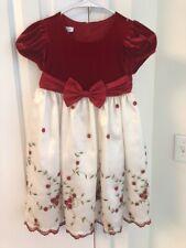 Girls Size 5 Holiday Dress