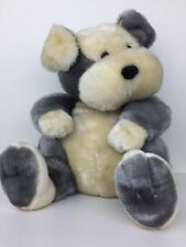 "Dan Dee Collectors Choice Large Plush Puppy Dog 17"" Soft and Cuddly EUC"