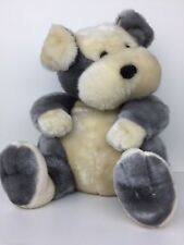 "Plush Puppy Dog Dan Dee Collectors Choice Large 17"" Soft and Cuddly EUC"