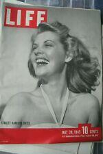 LIFE MAGAZINE - MAY 28, 1945 - STARLET BARBARA BATES - GORING TALKS