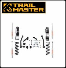 Trail Master 3.5 Inch Lift Kit w/ Shocks for 07-16 Jeep JK Wrangler 4 Door