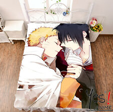 "Bedsheet Micro Fiber Blanket Naruto Uchiha Itachi HD Print Otaku Gifts 79"" #864"