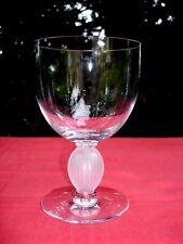 LALIQUE LANGEAIS WINE GLASS WEINGLÄSER WEINRÖMER KRISTALL VERRE A VIN CRISTAL