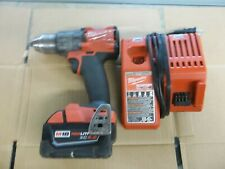 Milwaukee 2803-20 M18 FUEL Cordless 1/2 Inch Drill Driver w/ Charger & Battery U