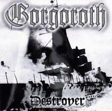Gorgoroth - Destroyer CD 1998 black metal Norway Nuclear Blast press