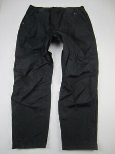 Mens XXL Patagonia Torrentshell Pants H2NO black waterproof