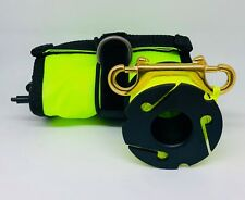 Scuba Diving Yellow SMB/DSMB 120x15cm with New Style 30m Yellow Finger Reel