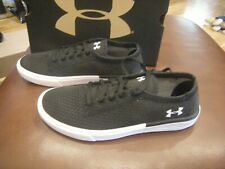 New Toddler Girls Black & White Under Armour Kickit 2 Low Tennis Shoes, 1