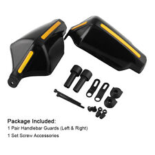 "7/8""Pair Motorcycle Motorbike Hand Brush Guard Wind Deflector Protector Shield"