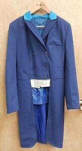 NEW CALDENE SOFTSHELL TAIL COAT DRESSAGE EVENING PERFORMANCE SHOW JACKET SIZE 12