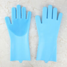 Silicone Gloves - Dish Washing and Cleaning,  Food-Safe Silicone, Heat Resistant