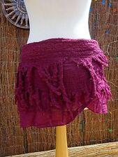 Pixie wrap Skirt, Fairy, Bohemian, Elven, Tribal Skirt, Festival, Goa