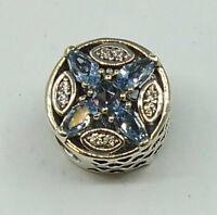 Pandora Charm  Blume  791995NMBMX   .925 Silber       #  A 30543