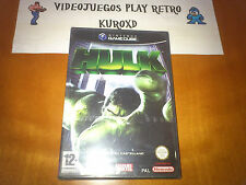 Pal version Nintendo GameCube Hulk
