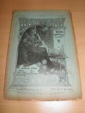 REVUE Science Arts Nature et La Vie Scientifique N°197 AOUT 1905 SOUS-MARINS