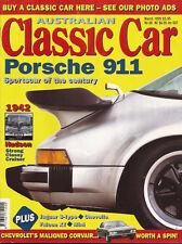 Aus Classic Car Mar 99 42 Hudson TX Falcon S-Type Chevelle Corvair 911 feature