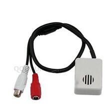 Adjustable Wide Range Spy Hidden Covert 12V CCTV Microphone Mic for CCTV Camera
