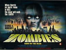 Zombies Dawn Of The Dead movie poster print - 12 x 16 inches - George A. Romero