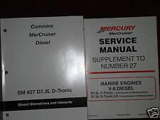 MERCRUISER DEALER SERVICE MANUAL'S-ENGINES-V8 D7.3L
