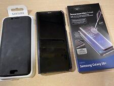 Set 2 Cover Protezione Originale Samsung Galaxy S8 + Plus e Screen Protector