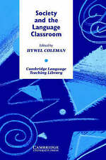Society and the Language Classroom (Cambridge Language Teaching Library), , Very