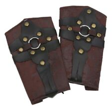 Gladiator Arm Shields Medieval Renaissance Arm Wrist Cuffs Costume Accessory